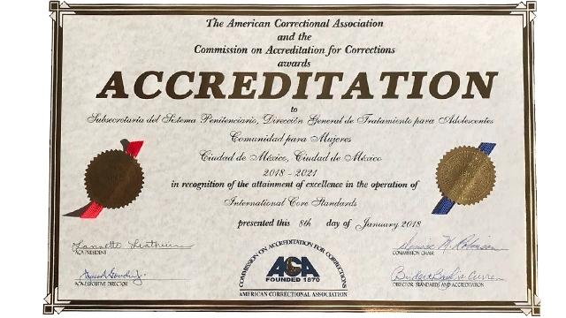 Re Certifican Internacionalmente Comunidad para Mujeres