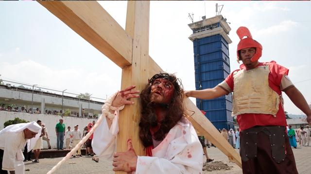 Liturgias por Semana Santa en Reclusorios de la CDMX