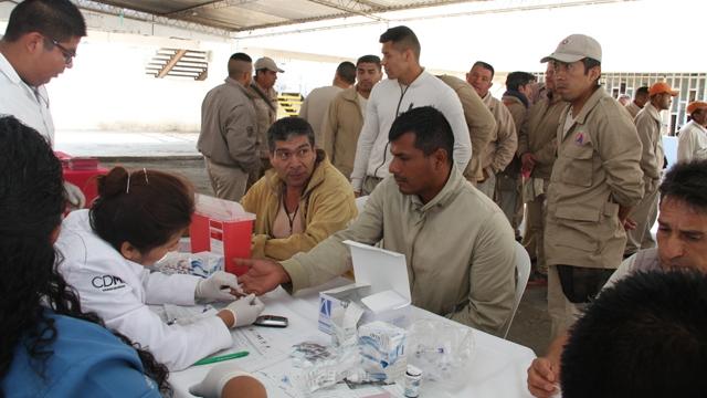 El 1.6 por ciento de la población penitenciaria de la capital del país padece de diabetes mellitus