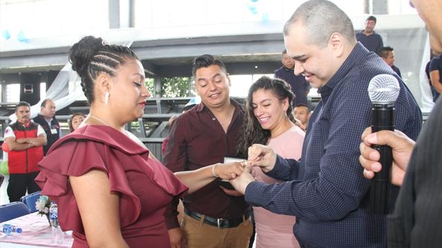 Realizan 32 bodas en la Penitenciaría de la CDMX