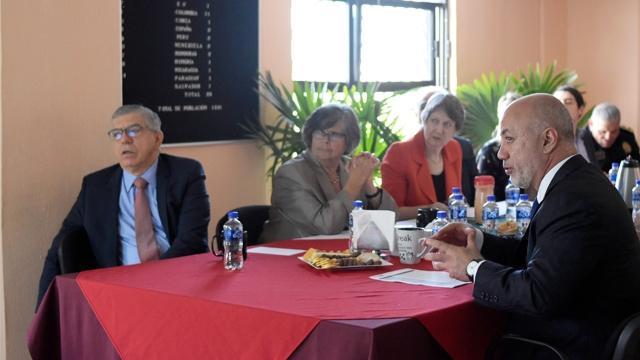 Visita Comisión Global de Políticas de Drogas el Centro Femenil de Santa Martha