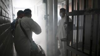 SECGOB Completará Mañana 100% de Centros Penitenciarios Sanitizados